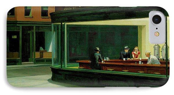 Nighthawks Phone Case by Edward Hopper