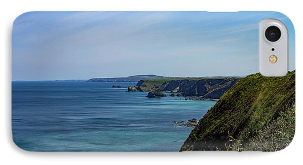 IPhone Case featuring the photograph North Coast Cornwall by Brian Roscorla
