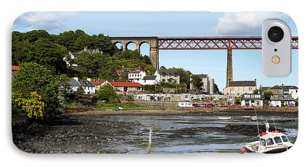 IPhone 7 Case featuring the photograph North Queensferry by Jeremy Lavender Photography