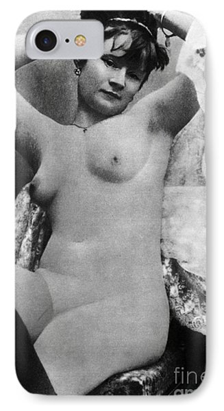 Nude Posing, C1888 Phone Case by Granger