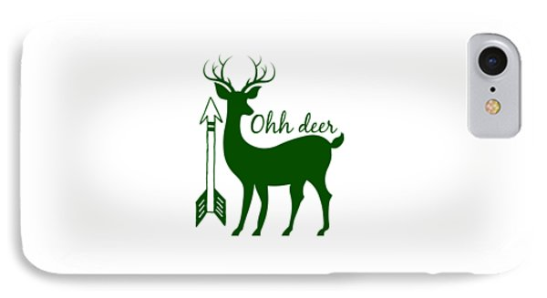 Ohh Deer IPhone Case by Chastity Hoff