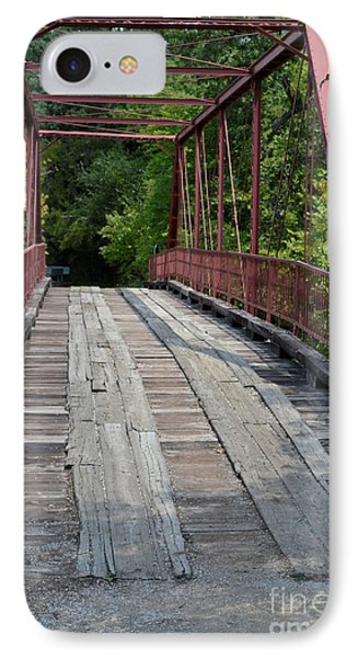 Old Alton Bridge  IPhone Case by Ruth  Housley