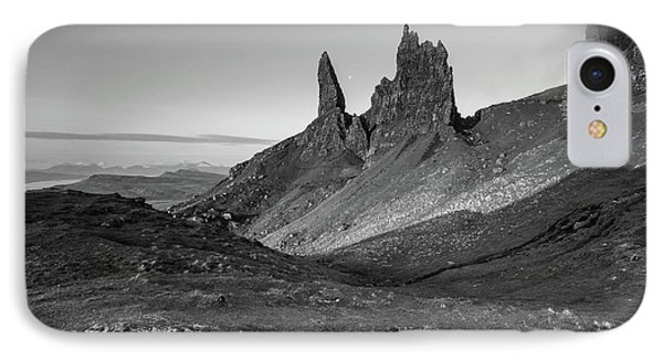 IPhone Case featuring the photograph Old Man Of Storr by Davorin Mance
