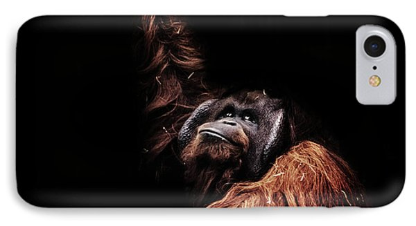 Orangutan IPhone 7 Case by Martin Newman