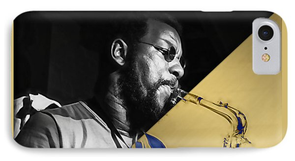 Ornette Coleman Collection IPhone Case by Marvin Blaine