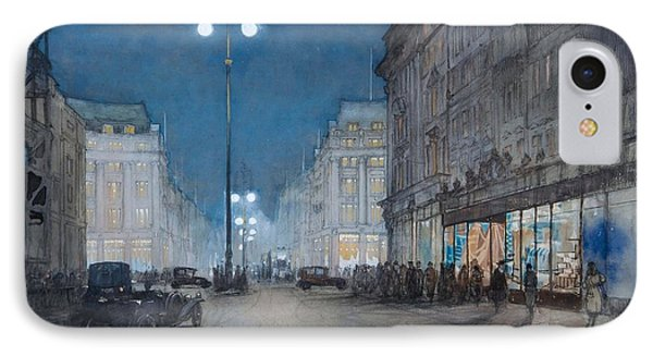 Oxford Circus IPhone Case by Donald Maxwell