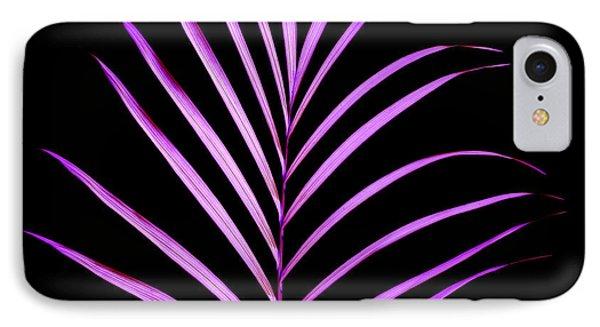 Palm Leaf IPhone Case by Tony Cordoza