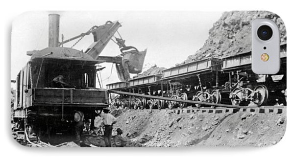 Panama Canal - Construction - C 1910 Phone Case by International  Images
