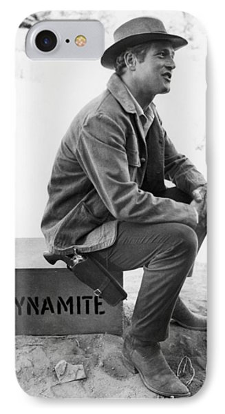 Paul Newman (1925-2008) IPhone Case by Granger
