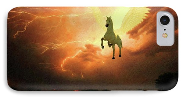 Pegasus By Mary Bassett IPhone 7 Case
