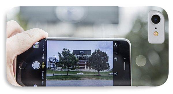 Penn State Beaver Stadium  IPhone Case by John McGraw