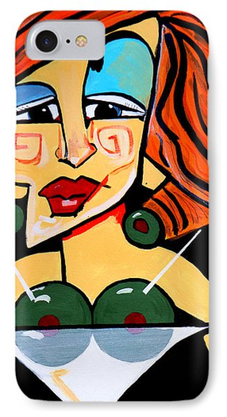 Big Boobs Picasso By Nora IPhone Case