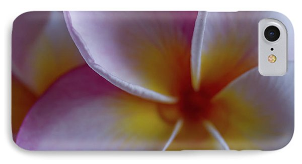 Plumeria IPhone Case by Roger Mullenhour