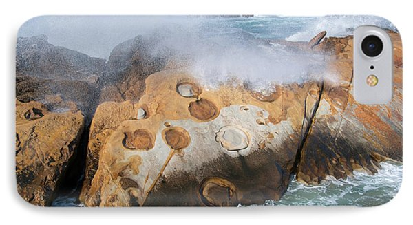 Point Lobos Concretions IPhone Case by Glenn Franco Simmons