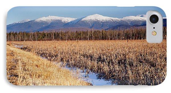 Pondicherry Wildlife Refuge - Jefferson New Hampshire IPhone Case by Erin Paul Donovan