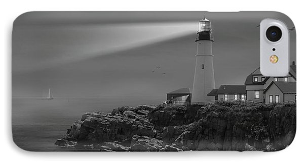Portland Head Lighthouse IPhone Case by Mike McGlothlen