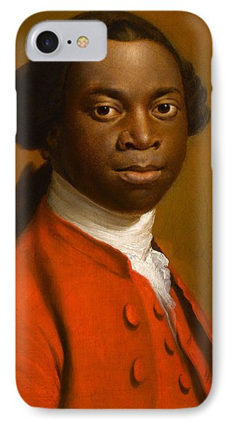 Portrait Of An African IPhone Case by Allan Ramsay
