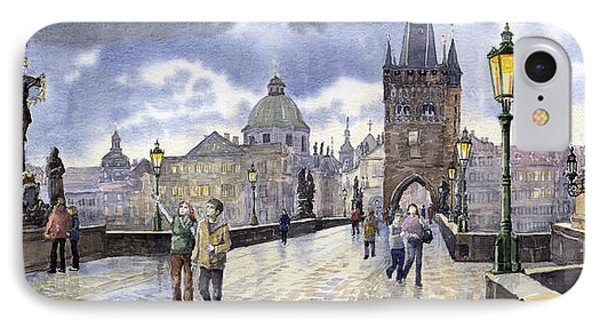 Prague Charles Bridge IPhone Case