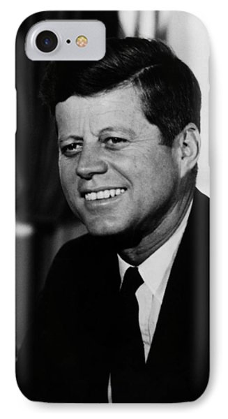 President Kennedy IPhone Case by War Is Hell Store