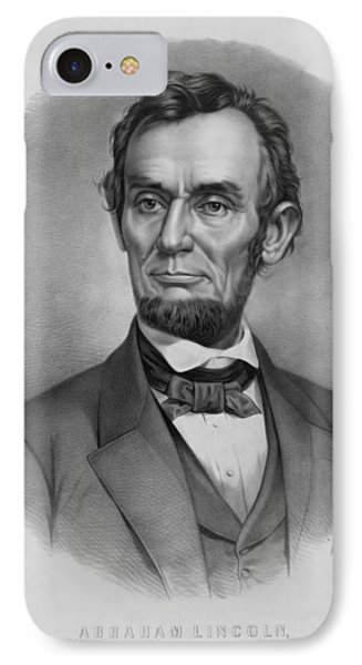 President Lincoln IPhone 7 Case by War Is Hell Store