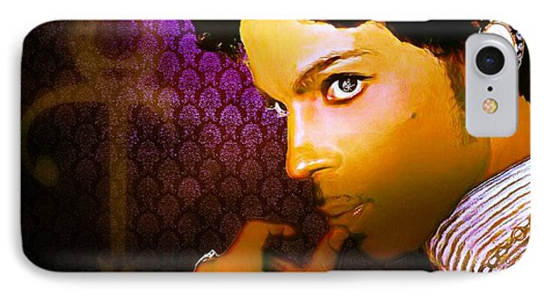 Prince IPhone Case by Lynda Payton