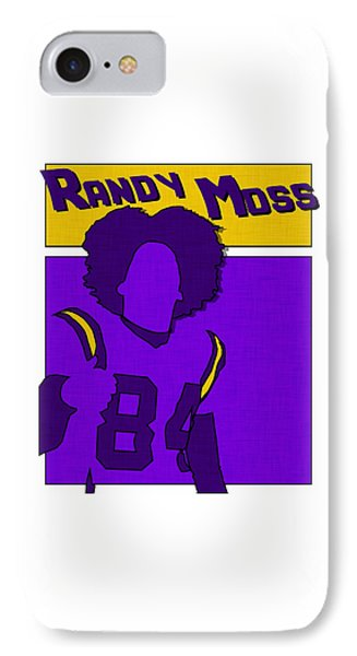Randy Moss IPhone Case by Kyle West