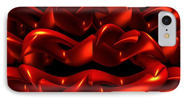 IPhone Case featuring the digital art Red by Lyle Hatch