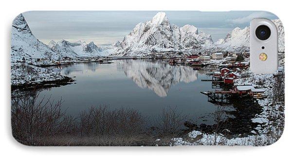 IPhone Case featuring the photograph Reine, Lofoten 4 by Dubi Roman