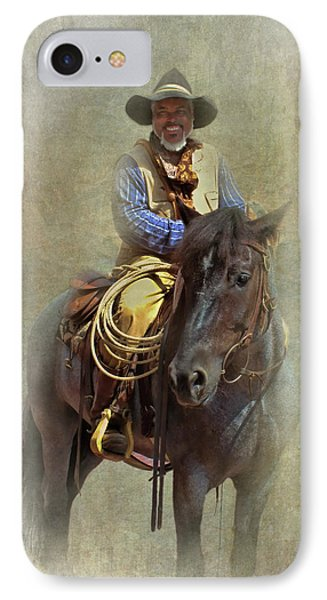 IPhone Case featuring the photograph Ride Em Cowboy by David and Carol Kelly