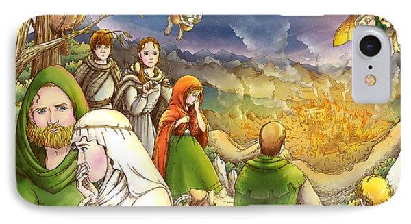 Robin Hood And Matilda IPhone Case by Reynold Jay