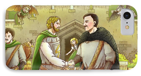 Robin Hood And The Captain Of The Guard IPhone Case
