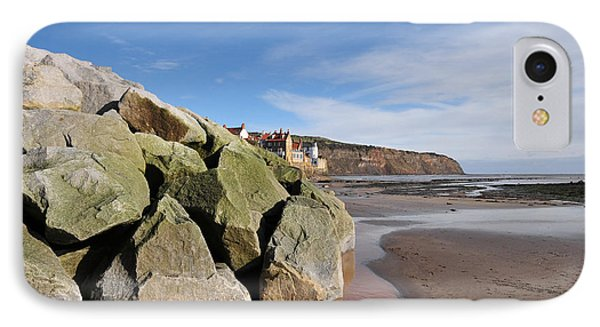 Robin iPhone 7 Case - Robin Hoods Bay by Smart Aviation