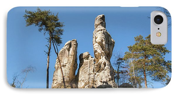IPhone Case featuring the photograph Rock Formations In The Bohemian Paradise Geopark by Michal Boubin
