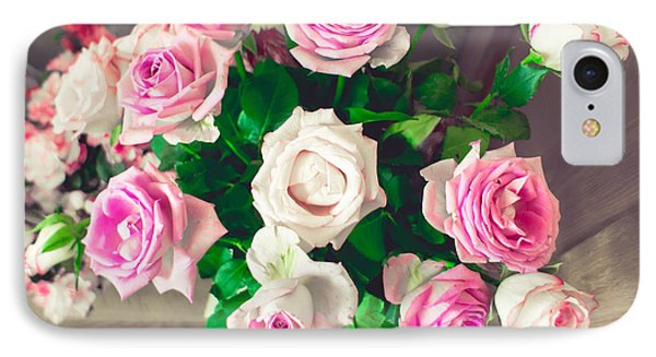 Roses IPhone Case by Tom Gowanlock