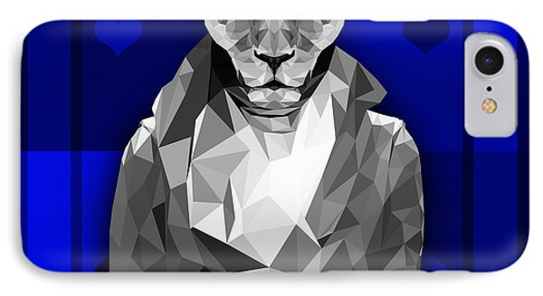 Royal Lioness IPhone Case by Gallini Design