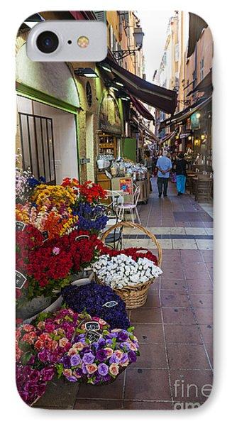 Rue Pairoliere In Nice IPhone Case by Elena Elisseeva