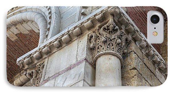 IPhone Case featuring the photograph Saint Sernin Basilica Architectural Detail by Elena Elisseeva
