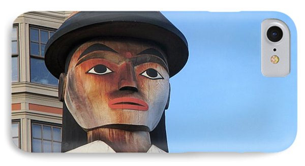 Salish Woman IPhone Case by Martin Cline