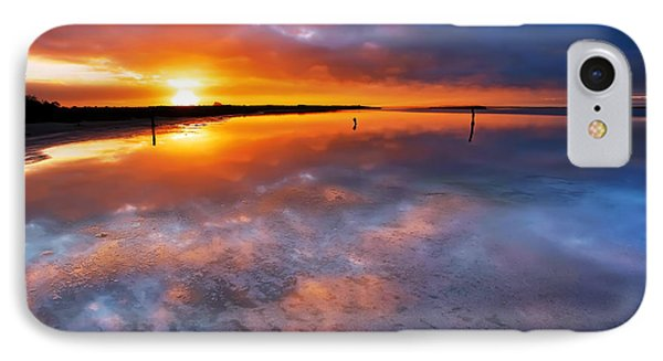 Salt Pan Sunrise IPhone Case