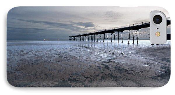 Saltburn Pier IPhone Case by Nichola Denny