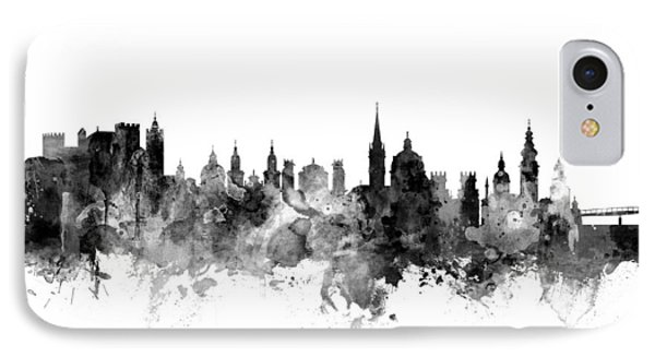 Salzburg Austria Skyline IPhone Case by Michael Tompsett