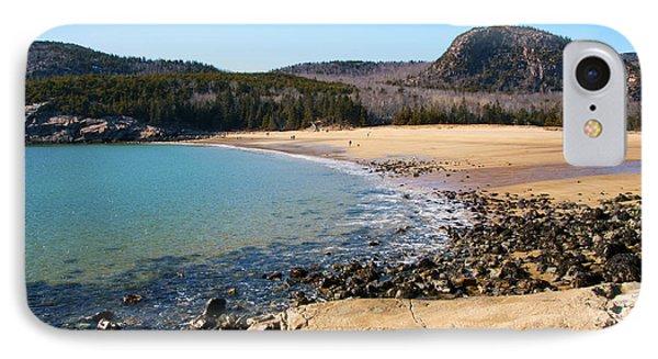 Sand Beach Acadia National Park IPhone Case
