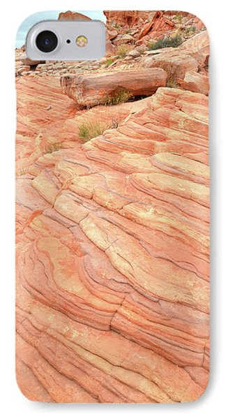 IPhone Case featuring the photograph Sandstone Swirls In Valley Of Fire by Ray Mathis