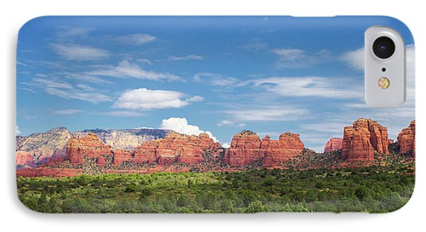 Sedona Red Rocks Mountain Range IPhone Case by Stephanie McDowell