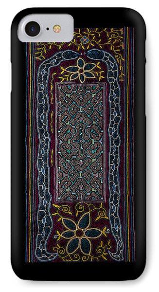 IPhone Case featuring the photograph Shipibo Art by Ulrich Schade