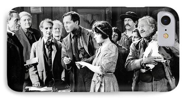 Silent Film Still: Wedding Phone Case by Granger