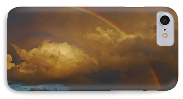 IPhone Case featuring the photograph 2- Singer Island Stormbow by Rainbows