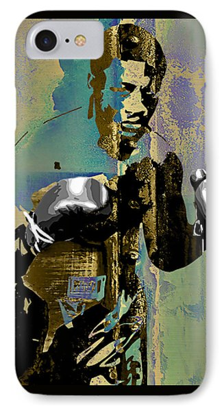 Smokin Joe Frazier Collection IPhone Case by Marvin Blaine