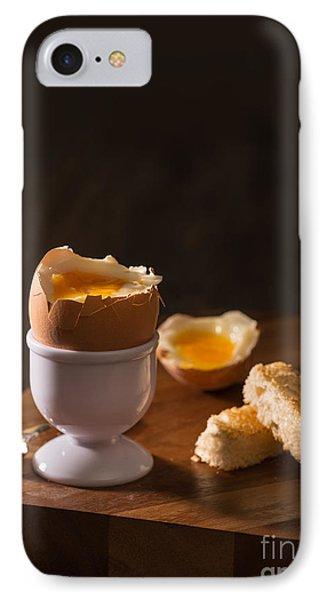 Soft Boiled Egg IPhone Case by Amanda Elwell