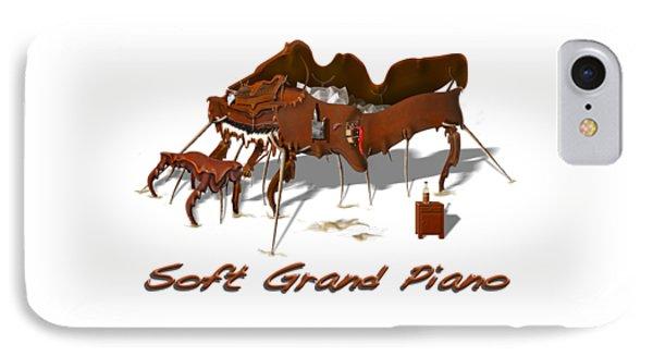 Soft Grand Piano  IPhone Case